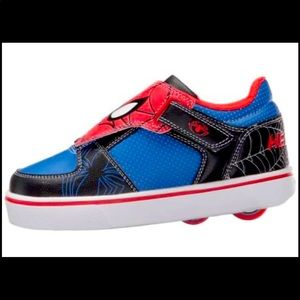 NWT Heely's Spiderman Twister Shoes